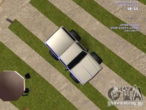 Rancher Monster для GTA San Andreas вид справа