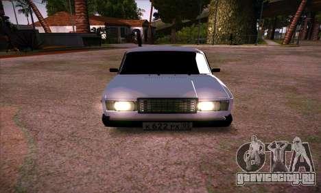 ВАЗ 2107 (05 RUS) для GTA San Andreas