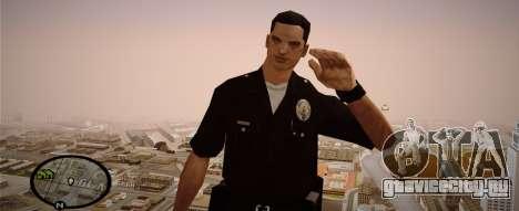 Los Angeles Police Officer для GTA San Andreas второй скриншот