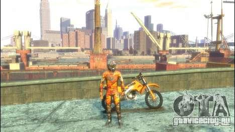 Мотоциклист для GTA 4 третий скриншот
