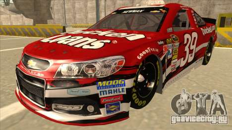 Chevrolet SS NASCAR No. 39 Quicken Loans для GTA San Andreas