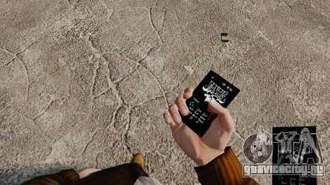 Темы для телефона Goth Rock для GTA 4 девятый скриншот