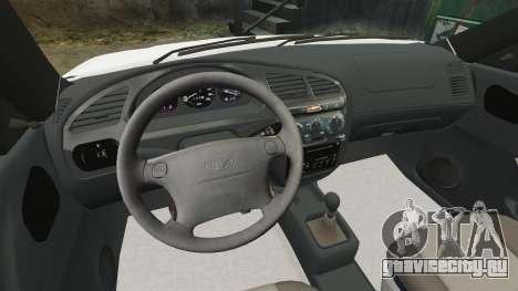 Daewoo Lanos 1997 Cabriolet Concept для GTA 4 вид изнутри