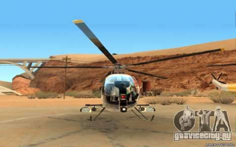 Buzzard Attack Chopper для GTA San Andreas вид слева
