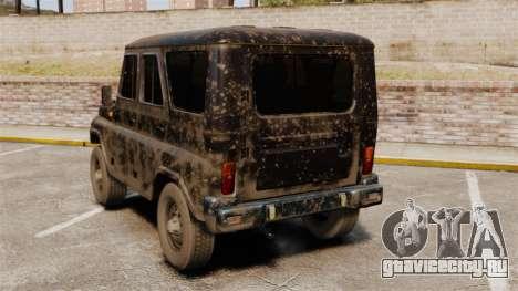 УАЗ-315195 Хантер для GTA 4 вид сзади слева