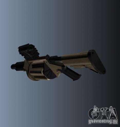 Гранатомёт MGL-MK1 для GTA 4 второй скриншот