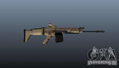 Пулемёт FN SCAR-H LMG для GTA 4 третий скриншот