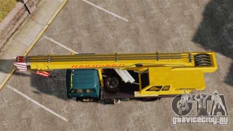 МАЗ КС3577-4-1 Ивановец для GTA 4 вид справа