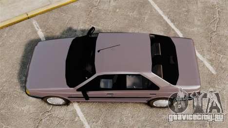 Peugeot 405 GLX для GTA 4 вид справа