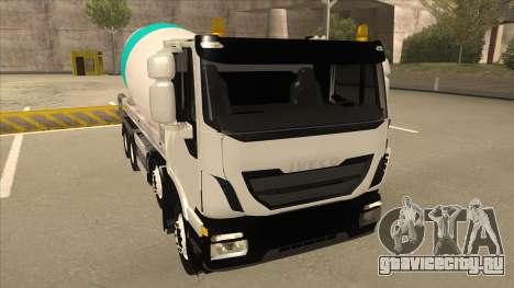 Iveco Hi-Land Автобетоносмеситель для GTA San Andreas вид слева