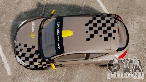 Renault Megane RS N4 для GTA 4 вид справа