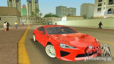 Subaru BRZ Type 2 для GTA Vice City