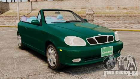 Daewoo Lanos 1997 Cabriolet Concept v2 для GTA 4