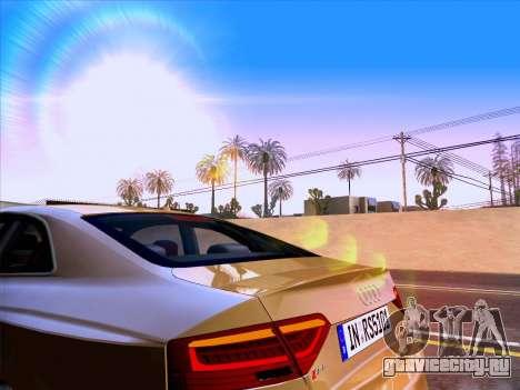 Audi RS5 2012 для GTA San Andreas вид сверху