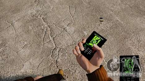 Темы для телефона Goth Rock для GTA 4 третий скриншот