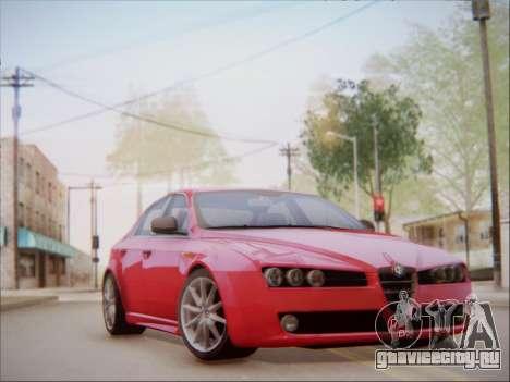 Alfa Romeo 159 Sedan для GTA San Andreas