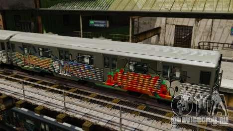 Новые граффити для Subway v1 для GTA 4 второй скриншот