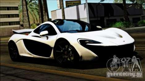 McLaren P1 2014 для GTA San Andreas вид сзади слева