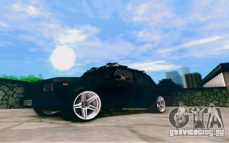 ВАЗ 2107 Riva для GTA San Andreas вид слева