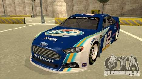 Ford Fusion NASCAR No. 2 Miller Lite для GTA San Andreas