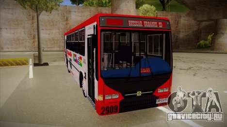 Busscar Urbanus SS Volvo B10 M Busmania для GTA San Andreas вид слева