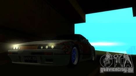 Nissan Silvia S13 MGDT для GTA San Andreas вид справа