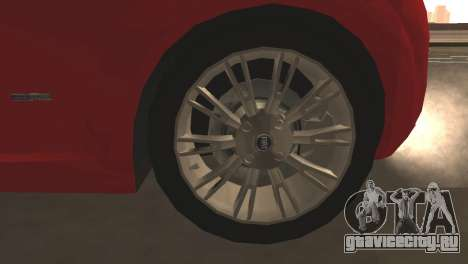 Fiat Grande Punto для GTA San Andreas вид снизу