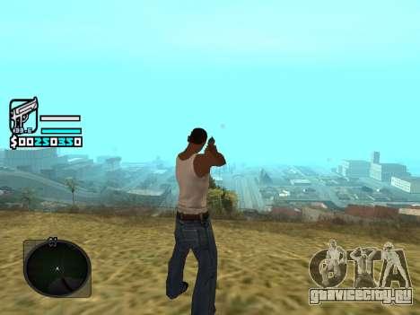 Hud by Larry для GTA San Andreas второй скриншот