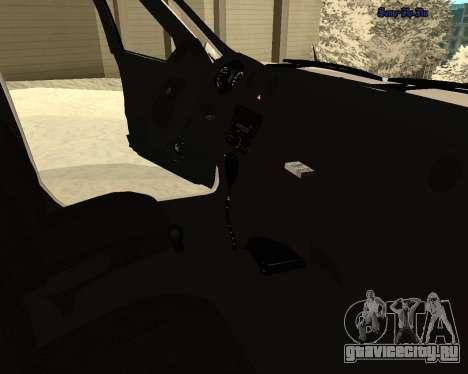 Lada 2190 Granta Полиция v2.0 для GTA San Andreas вид сверху