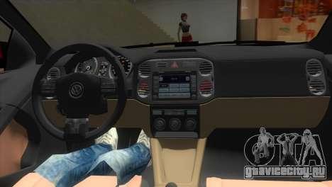 Volkswagen Passat B7 2012 для GTA Vice City вид изнутри