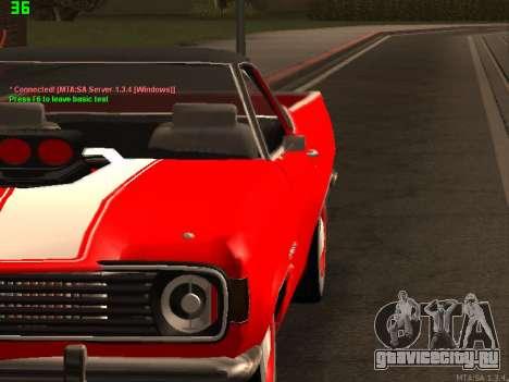 ГАЗ El Camino SS для GTA San Andreas вид слева