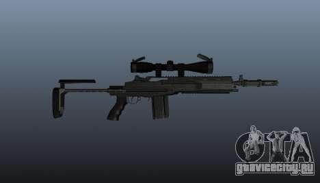 Автоматическая винтовка M14 EBR v2 для GTA 4 третий скриншот
