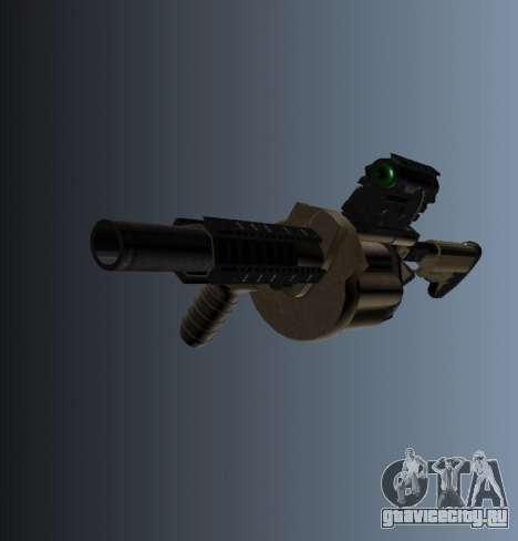 Гранатомёт MGL-MK1 для GTA 4