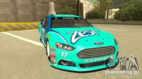 Ford Fusion NASCAR No. 17 Zest Nationwide для GTA San Andreas вид слева