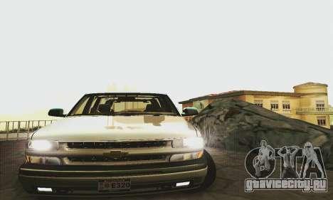 Chevrolet Suburban SAPD FBI для GTA San Andreas вид сзади слева