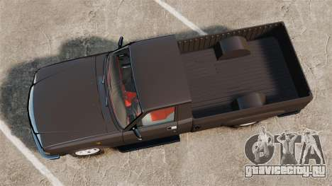 ГАЗ-3110 Пикап для GTA 4 вид справа
