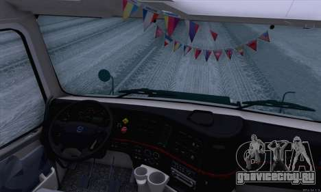 Volvo VNL 780 для GTA San Andreas вид сзади