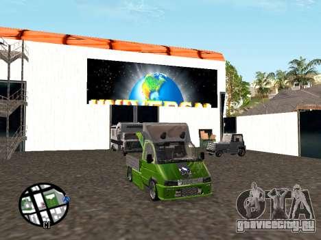Газель Эвакуатор для GTA San Andreas