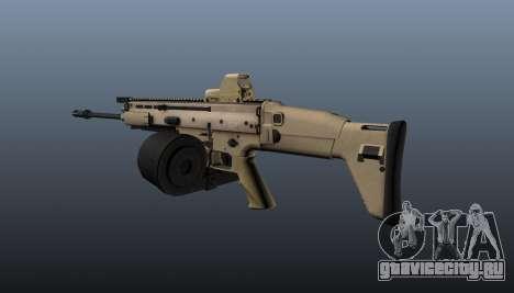 Пулемёт FN SCAR-H LMG для GTA 4 второй скриншот