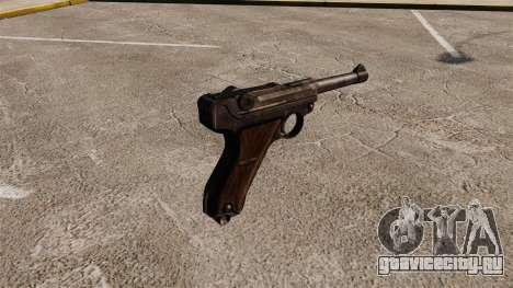 Пистолет Parabellum v1 для GTA 4 второй скриншот