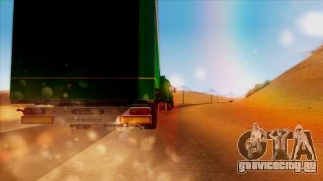 Volvo FH16 для GTA San Andreas вид сбоку
