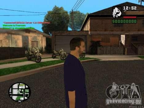 New Andre для GTA San Andreas второй скриншот