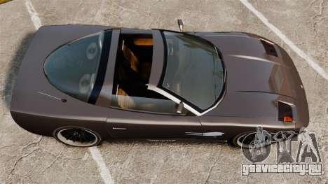 Coquette Targa для GTA 4 вид сзади слева
