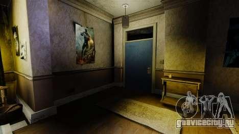 Новые текстуры в первой квартире Романа для GTA 4 третий скриншот