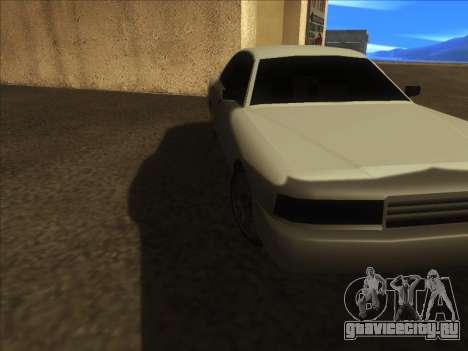 New Merit для GTA San Andreas вид слева