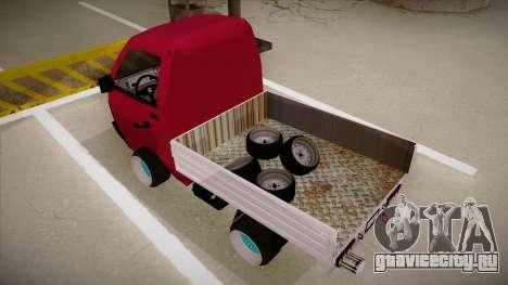 Suzuki Carry Drift Style для GTA San Andreas вид сзади