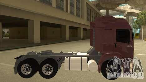 Volkswagen Constellation 25.370 Tractor для GTA San Andreas вид сзади слева
