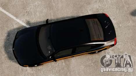 Dodge Charger 2008 LCPD Slicktop [ELS] для GTA 4 вид справа