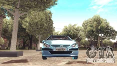 Peugeot 307 для GTA San Andreas вид справа