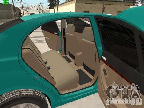 Toyota Avensis 2.0 16v VVT-i D4 Executive для GTA San Andreas вид сверху